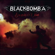 "Visuel de l'album ""Enemies of the state"" (digipack) de Black Bomb Ä"
