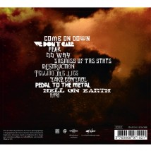 "Dos de l'album ""Enemies of the state"" (Digipack)"