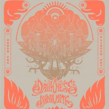 "Visuel de l'album ""Under The Painted Sky"" de Darkness Dynamite"
