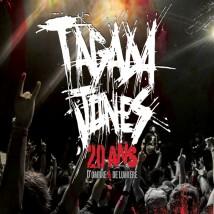"""Visuel du live """"20 ans d'ombre & de lumière"""" de Tagada Jones"""