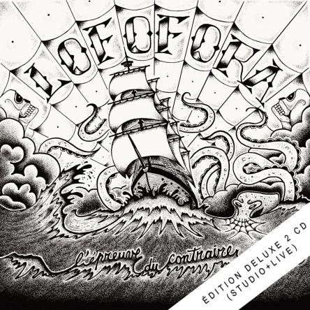 L'épreuve du contraire - édition deluxe 2CD (Live 2015 + studio)