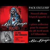 Triptyk - pack exclusif CD + place de concert