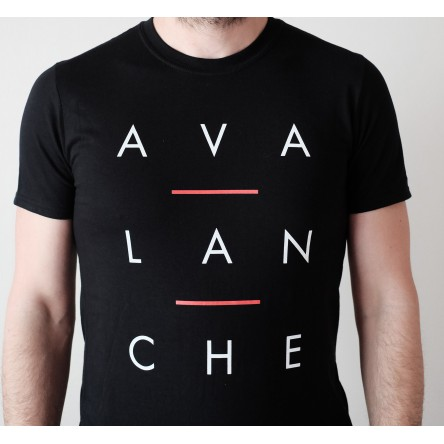 T-Shirt Avalanche - Lettres