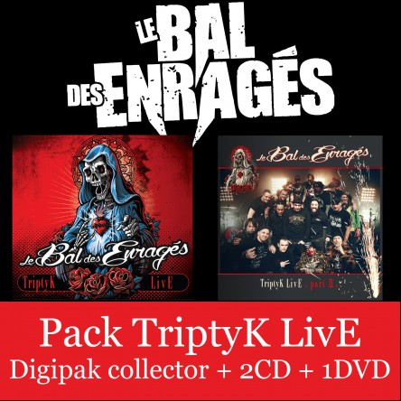 Pack TriptyK Live (Vol. 1 + Vol. 2 / 2CD + 1DVD)