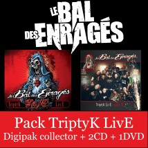 Pack TriptyK Live (Vol. 1 + Vol. 2  2CD + 1DVD)