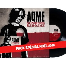 Pack vinyle + 2xCD - Sombres efforts (rééditions 2017)