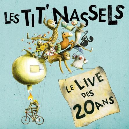 Le live des 20 ans (édition digipak 2CDs)