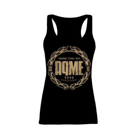 "Tank Top ""Smashing Stages 2019"" - AqME (Femme)"