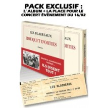 Bouquet d'Orties - pack exclusif CD + place de concert