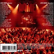 Live(s) CD+DVD - Back