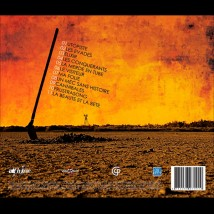 """Dos de l'album """"Monstre Ordinaire"""""""