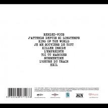 "Dos de l'album ""Les chevals"" (Ed. Digipack)"