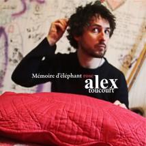 """Visuel de l'album """"Mémoire d'éléphant rose"""" d'Alex Toucourt"""