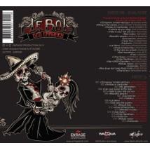 """Dos du CD / DVD """"Le grand retour"""" du Bal des enragés"""