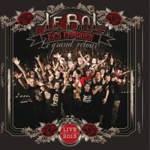 """Visuel du CD / DVD """"Le grand retour"""" du Bal Des Enragés"""