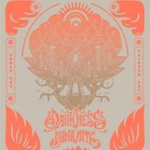 """Visuel de l'album """"Under The Painted Sky"""" de Darkness Dynamite"""