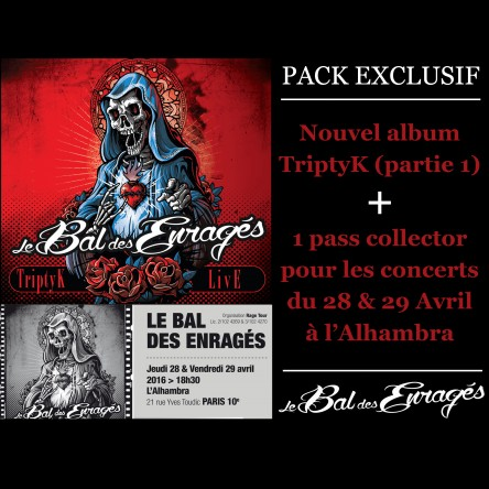 Triptyk - pack exclusif CD + pass 2 jours