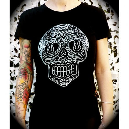 T-shirt Calavera Femme - Lofofora
