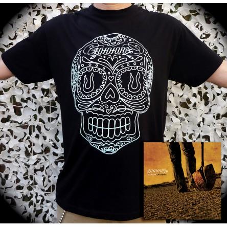 Pack exclusif - CD Monstre ordinaire + T-shirt Calavera