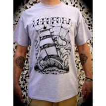 T-Shirt 3 Mats gris - Lofofora
