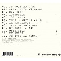 La nébuleuse (édition digipak) - dos