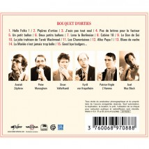 Bouquet d'Orties (ed. slipcase) - Back
