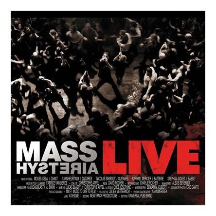 Mass Hysteria Live (ed. digipack CD+DVD)